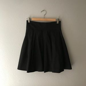 French Connection Pleated Flare Skirt